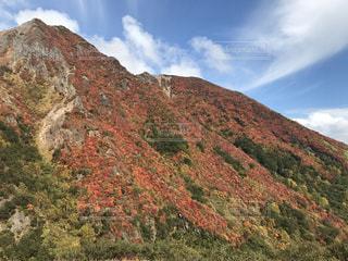 那須岳紅葉の写真・画像素材[1080277]