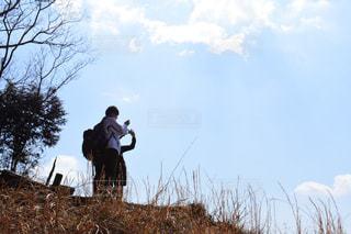 登山に行くの写真・画像素材[1082805]