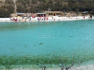 湖の写真・画像素材[1080944]