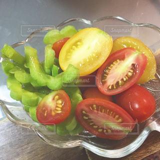 カラフルなプチトマトの写真・画像素材[1085210]