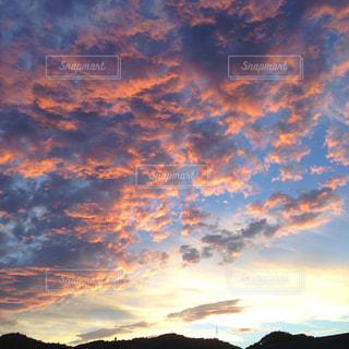 夕景の写真・画像素材[1085727]