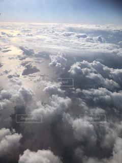 飛行機からの景色の写真・画像素材[1081904]