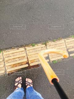 通り雨、バス待ちの写真・画像素材[1431275]