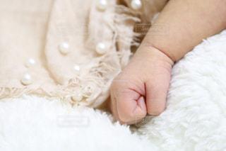 新生児 手の写真・画像素材[2655859]
