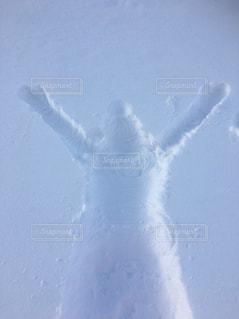 雪山でのひとときの写真・画像素材[1083420]