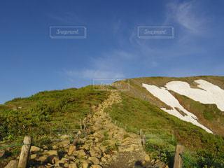 唐松岳への登山道の写真・画像素材[1084827]