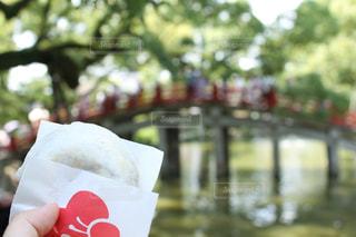 太宰府天満宮・梅ヶ枝餅の写真・画像素材[1085031]