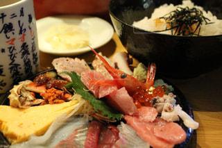 海鮮丼の写真・画像素材[1085121]