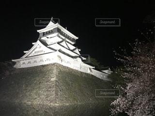 小倉城でお花見の写真・画像素材[1088824]