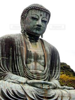 鎌倉の大仏の写真・画像素材[1103666]