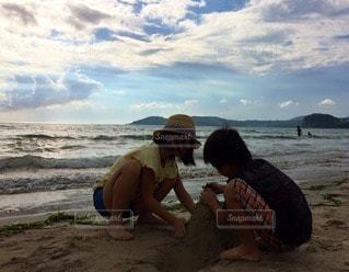 砂遊びの写真・画像素材[78423]