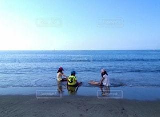 海の井戸端会議の写真・画像素材[105555]