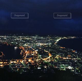 函館山より撮影した函館の街の写真・画像素材[1082113]