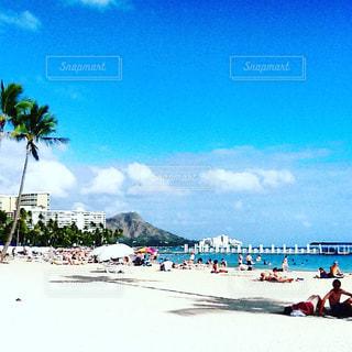 ワイキキビーチの風景の写真・画像素材[1084617]