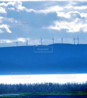 風車群の写真・画像素材[1083200]