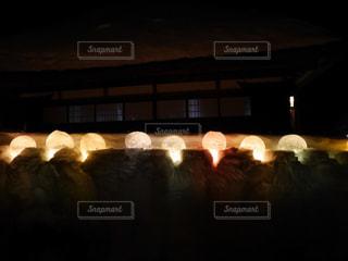 氷のライトアップ, light up of ice - No.1084267