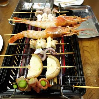食品トレイの写真・画像素材[1083393]