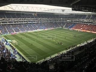 人でいっぱいスタジアムの写真・画像素材[1084056]