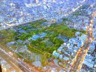 都市の空中写真の写真・画像素材[1101464]