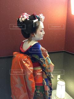 舞妓さんになった私の写真・画像素材[1085319]