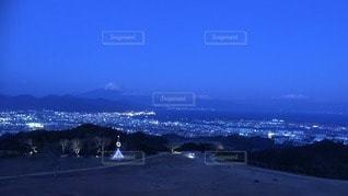 富士の夜景の写真・画像素材[58444]