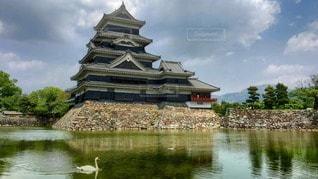 国宝松本城の写真・画像素材[66181]