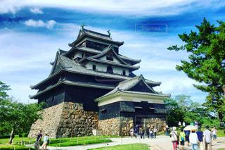 松江城の写真・画像素材[686785]