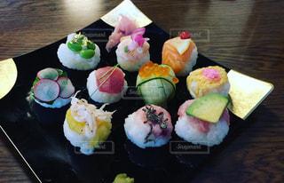 手毬寿司の写真・画像素材[736834]
