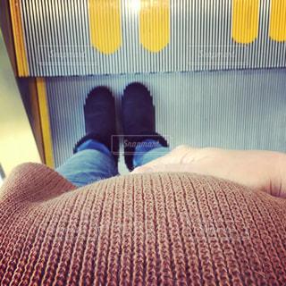 妊婦のお腹の写真・画像素材[1086228]