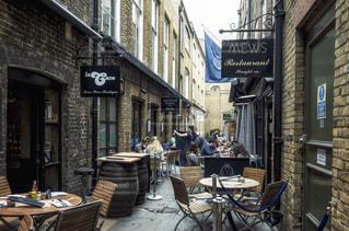 ロンドン レストラン街 道の写真・画像素材[1088478]