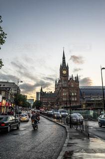 キングスクロス駅 周辺 ロンドンの写真・画像素材[1088482]