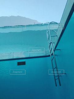 プールの写真・画像素材[1086334]