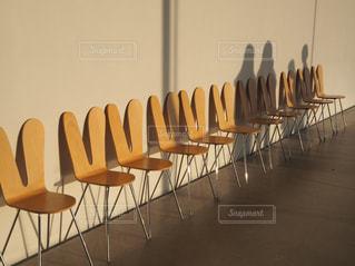 金沢の21世紀美術館 うさぎの椅子の写真・画像素材[1086342]