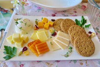チーズ盛り合わせの写真・画像素材[1086929]