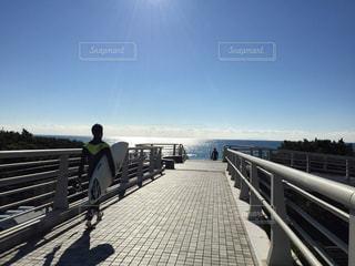 朝の海の写真・画像素材[1087802]
