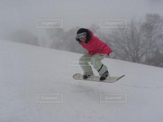 スノーボードの写真・画像素材[1088183]