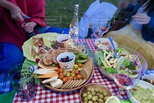 いよいよ始まるナイトピクニックの写真・画像素材[1152917]