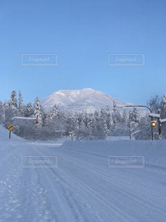 雪山の写真・画像素材[1086893]