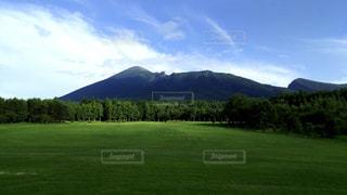 雄大な岩手山の写真・画像素材[1089334]