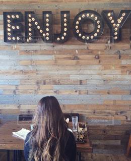 オシャレなカフェでまったり♡の写真・画像素材[1088082]