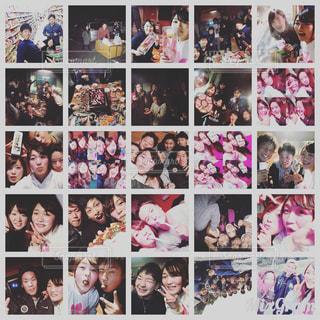 写真のポーズの人々 のグループの写真・画像素材[1102973]