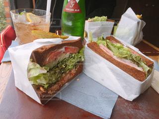 サンドイッチの写真・画像素材[1088630]
