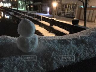 雪に覆われた建物の写真・画像素材[1088853]