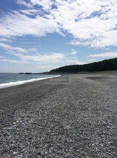 砂浜のビーチの写真・画像素材[1089191]