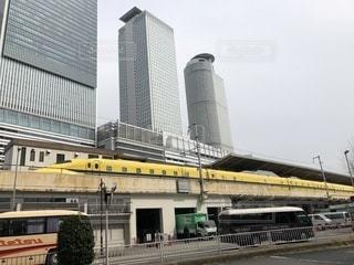 名古屋駅停車中のドクターイエローの写真・画像素材[1089254]