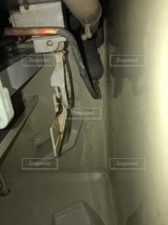 製氷機の内部の写真・画像素材[1089287]