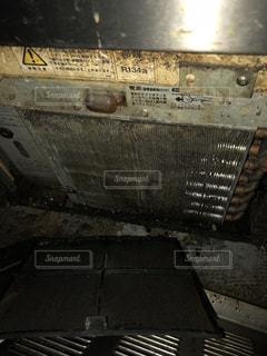 製氷機の凝縮器の写真・画像素材[1089288]