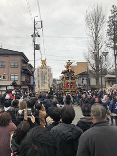 春の高山祭りの写真・画像素材[1145327]