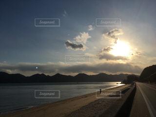 向島の夕暮れの写真・画像素材[1089507]