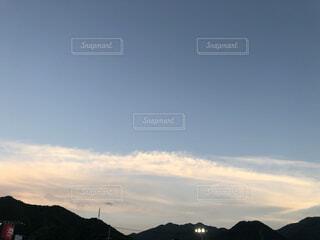 夕焼け空の写真・画像素材[3619472]